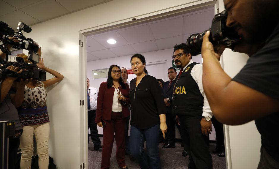 Keiko Fujimori: juez Zúñiga declara improcedente nuevo pedido de nulidad contra apelación de prisión preventiva