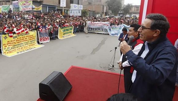 Martín Vizcarra: El pueblo también puede elegir a buenos congresistas