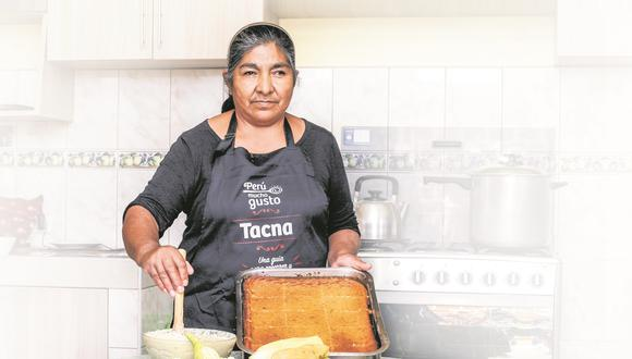 """""""Hizo del pastel de choclo una filosofía de vida, y este a su vez, le devolvió la fuerza de existir y desplegar en su generosidad de ser los valores de la cocina peruana"""", comenta Andrés Ugaz"""