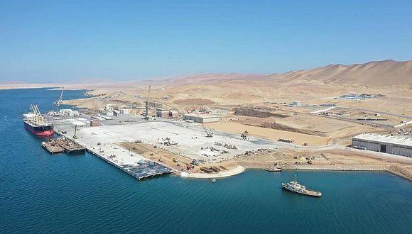 Desaprueban exportación de minerales por el puerto de San Martín en Pisco