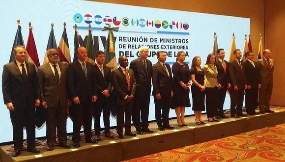 Grupo de Lima acordó profundizar gestiones con países aliados a régimen chavista