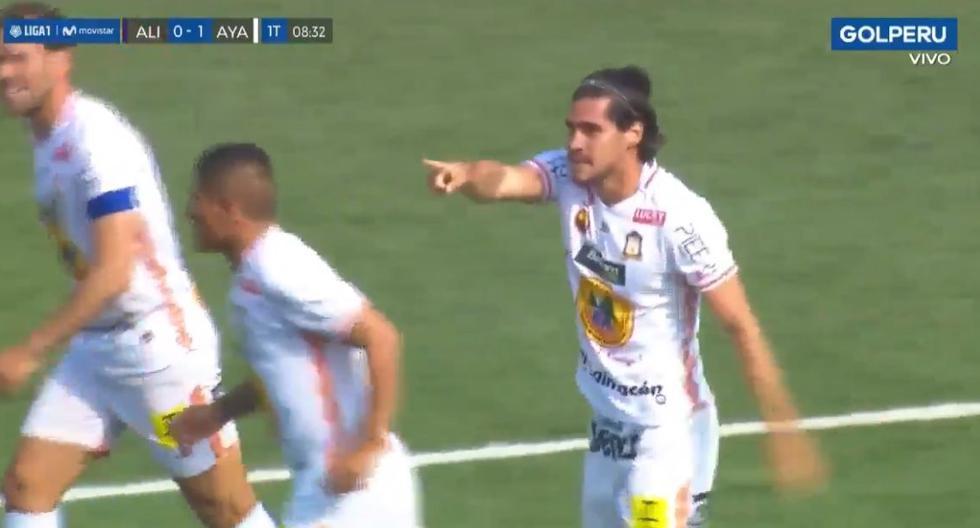 Alianza Lima vs. Ayacucho FC: Diego Minaya puso el 1-0 para los 'Zorros' (VIDEO)