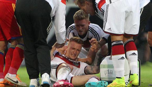 Brasil 2014: Marco Reus queda fuera del Mundial por lesión