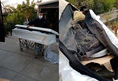 Ica: Descubren ataúd lleno de basura durante sepultura en Saraja
