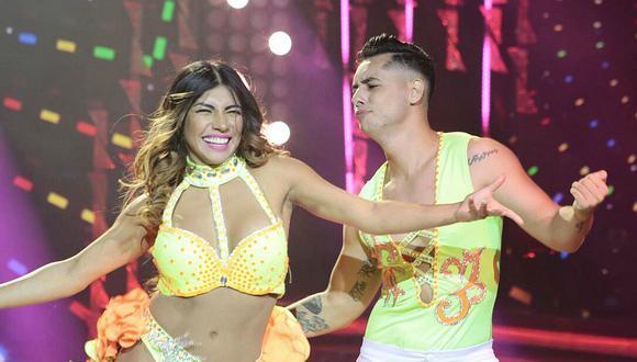 El Gran Show: Diana Sánchez reemplazó a Milett Figueroa con infartante baile (VIDEO)