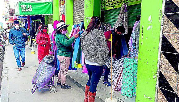 Unas 1200 bodegas nuevas se crearon en Huancayo  durante la cuarentena