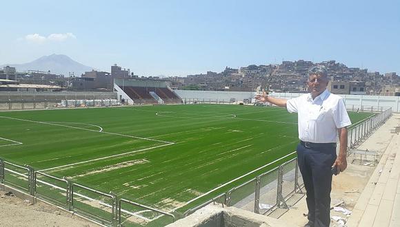 En 10 días se inaugura estadio municipal de El Porvenir