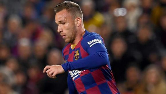 Arthur Melo jugó en FC Barcelona en las dos últimas temporadas. (Foto: FC Barcelona)