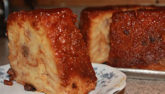 Conoce cómo preparar budín de pan clásico
