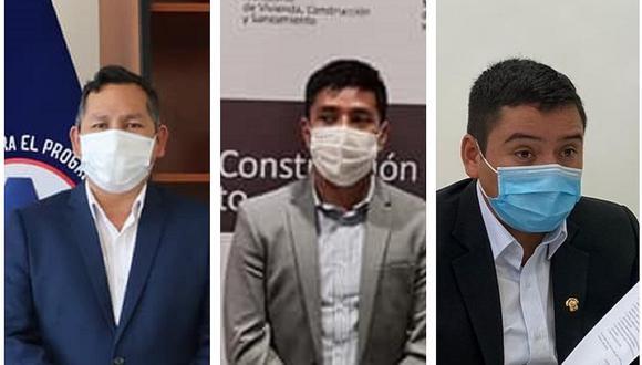 Los tres congresistas por Ayacucho apoyaron moción de vacancia contra Martín Vizcarra