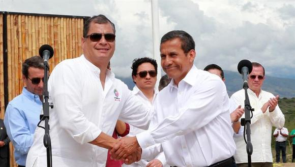 Ollanta Humala y Rafael Correa inauguran IX reunión del Gabinete Binacional Perú-Ecuador