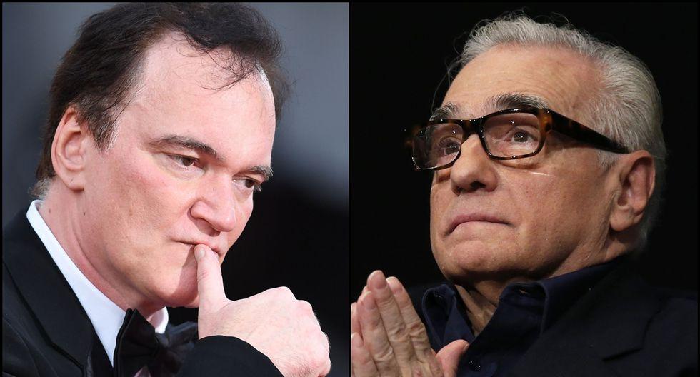 Quentin Tarantino y Martin Scorsese se disputan el mayor galardón otorgado por el Sindicato de Directores este 26 de enero. (Foto: Agencias)