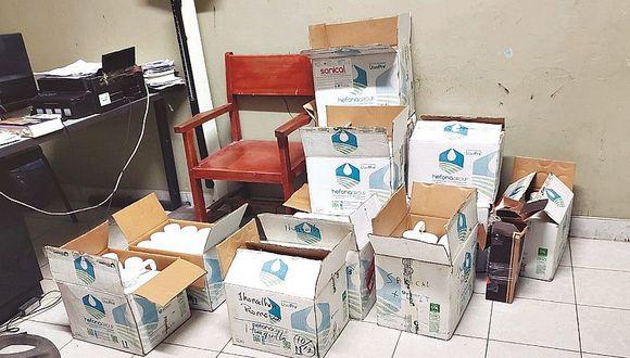 Durante operativo incautan mercadería de contrabando