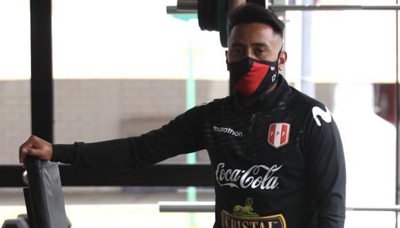Christian Cueva viaja a Lima para unirse a la selección peruana. (Foto: FPF)