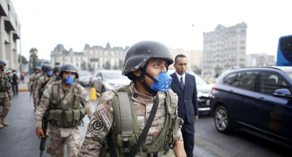 La Policía Nacional y Fuerzas Armadas vigilarán las calles para que se cumpla el aislamiento social obligatorio (Foto: Andina)