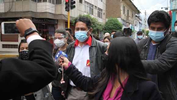 Juez de Huancavelica anuló sentencia por corrupción en contra del exgobernador Vladimir Cerrón. (Foto: GEC)