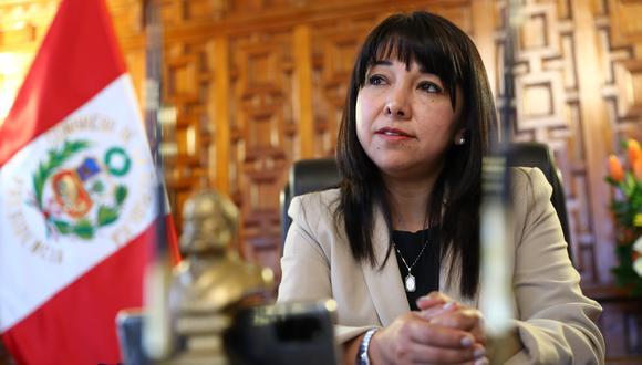 Mirtha Vásquez consideró que se debe recuperar la legitimidad del Congreso de la República. (Foto: GEC)