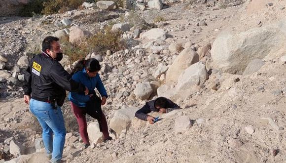Policías llegaron hasta la carretera Tacna Collpa. (Foto: Difusión)