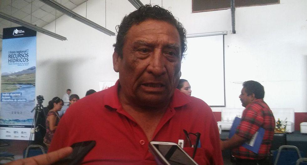 Bertolotto dice que no se ejecutó obra porque dueño del terreno murió