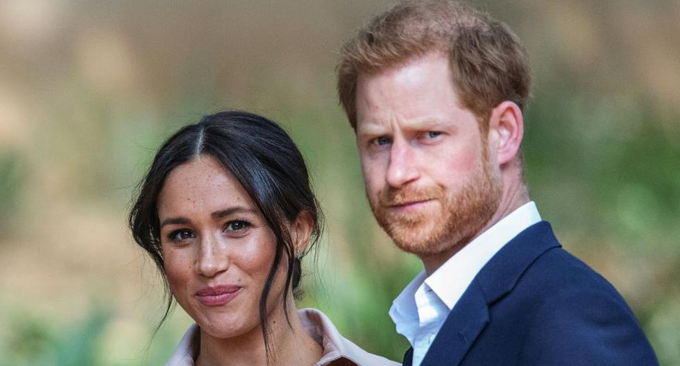 Imagen del príncipe Harry y Meghan Markle. (Michele Spatari / AFP).