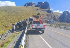 Chofer de camión muere tras despistarse en la vía Juliaca - Arequipa