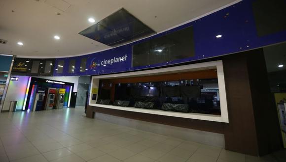 Las salas de cines del país permanecen cerrados desde que inició en marzo el estado de emergencia nacional por la pandemia del COVID-19. (Foto: GEC)