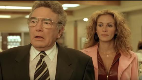 """""""Erin Brockovich, una mujer audaz"""", película protagonizada por Julia Roberts, es una de las cintas que se emitirán este lunes por Star Channel. (Foto: Captura de YouTube)"""