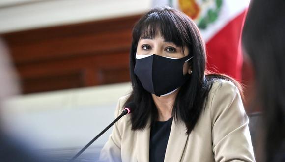 La titular del Consejo de Ministros se refirió al anuncio del partido de Gobierno de no brindar el voto de confianza al Gabinete. (Foto: PCM)
