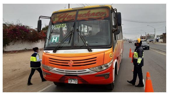 Trujillo: Municipio infraccionó a 43 choferes por incumplir normas para frenar el Covid-19