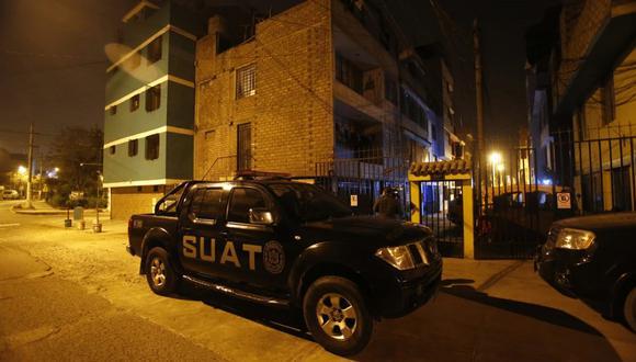 Allanan viviendas de Chacalón Jr. y varios policías. (Foto: Cesar Grados/@photo.gec)