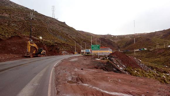 Emiten resolución sobre posible instalación de peaje Ticlio en Carretera Central