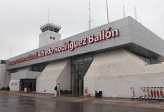 Realizarán mejoras al aeropuerto de Arequipa
