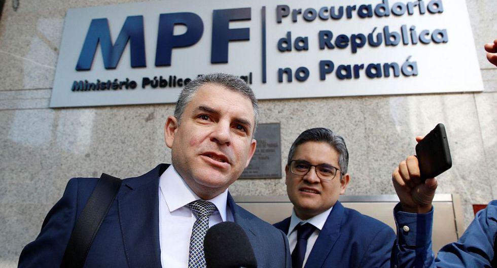 Rafael Vela Barba participará en interrogatorios a lo largo de la semana con exdirectivos de Odebrecht. (Foto: EFE)