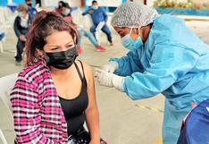 Vacunarán a jóvenes de 25 años a más este lunes 13 de setiembre en Trujillo