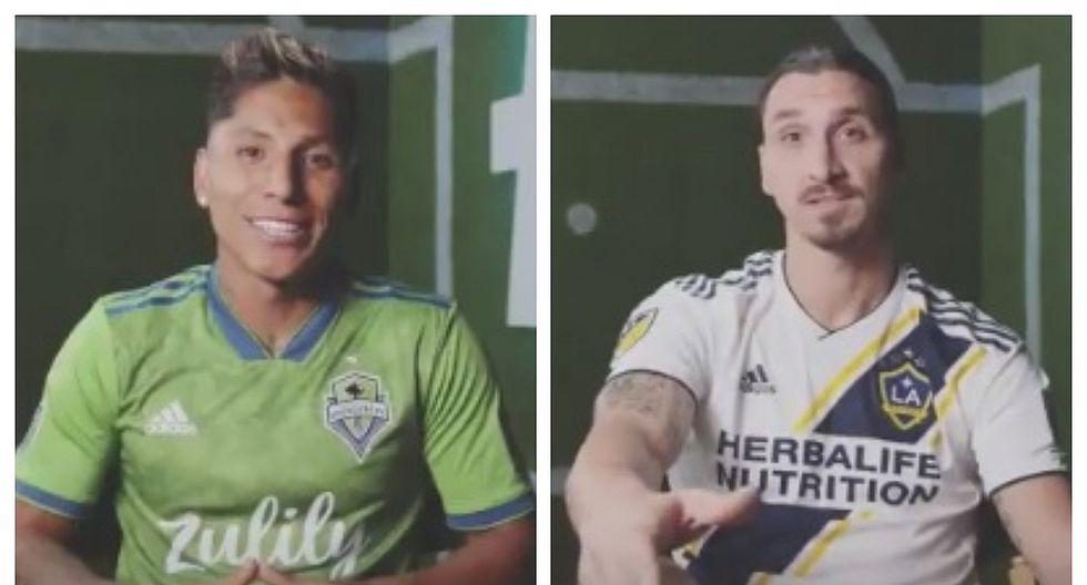 Raúl Ruidíaz apareció en spot en el que también participó Zlatan Ibrahimovic (VIDEO)