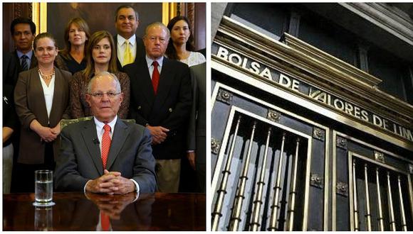 La Bolsa de Valores de Lima cerró al alza tras la dimisión de PPK