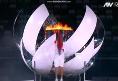 Naomi Osaka dio inicio a los juegos Tokio 2020 luego de encender la antorcha olímpica (VIDEO)