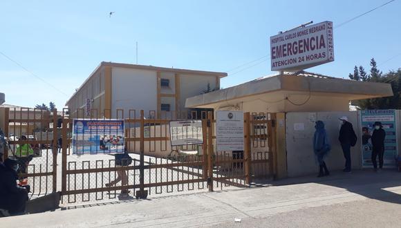 El herido fue trasladado hasta el puesto de salud de Ananea y luego referido al hospital Carlos Monge Medrano de Juliaca.