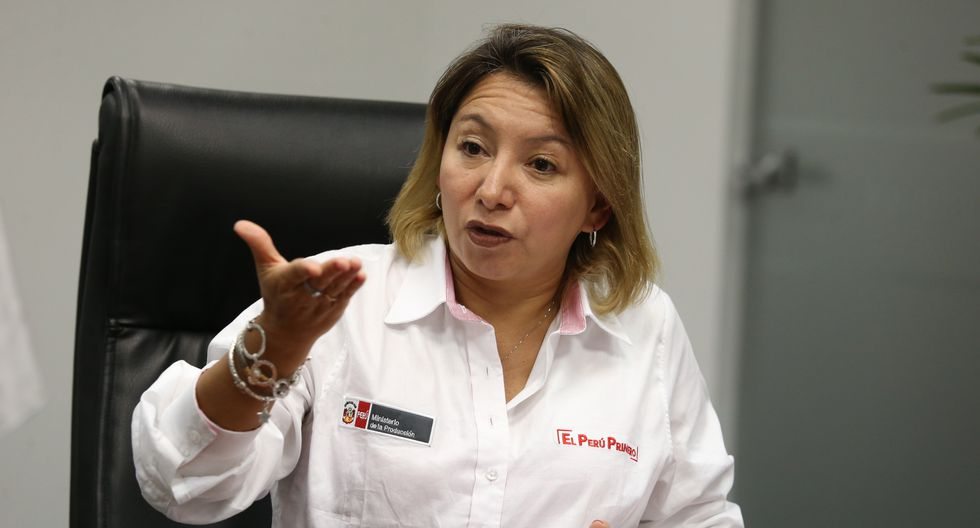 Rocío Barrios. (Foto: Violeta Ayasta)