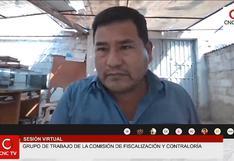 Congreso cita a gobernador Juan Tonconi y funcionarios por obra del hospital Unanue