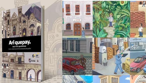 La historia de familais empresarias de Arequipa reunidas en un libro