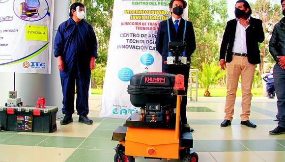 Egresados de UNCP crean a 'Khuyay' y otras máquinas que ayudan en la pandemia (VIDEO)