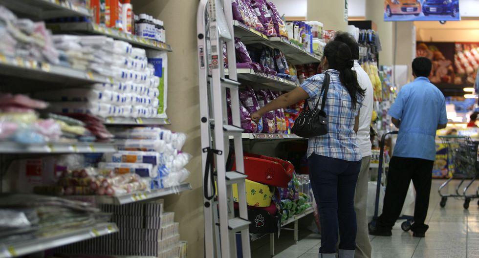 Supermercados. FOTO: JULIO ANGULO / EL COMERCIO
