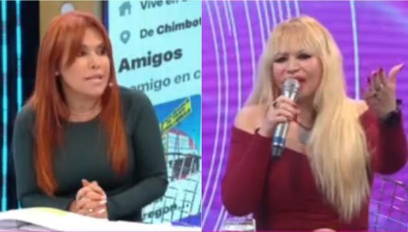 Magaly Medina y Susy Díaz tuvieron una discusión. | Foto: Captura de pantalla de ATV.
