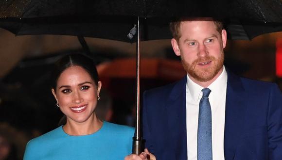 Meghan Markle recibió cariñosos mensajes de la familia real en el día de su cumpleaños. (Foto: DANIEL LEAL-OLIVAS / AFP)