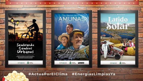 Estrenan cortometrajes de temática ambiental que resaltan prácticas sostenibles en tres regiones de Perú