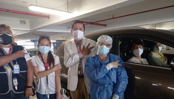 La cifra  de inmunizados en la provincia  de Arequipa puede  superar los 80 mil  pues hasta el día de mañana se aplica  la primera dosis en 16 distritos rurales. (Foto: Difusión)
