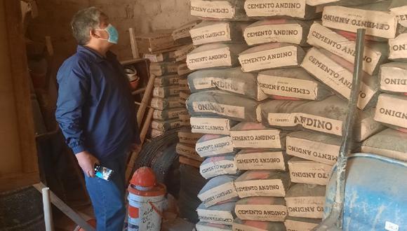 Regidor Morales verificó situación de materiales