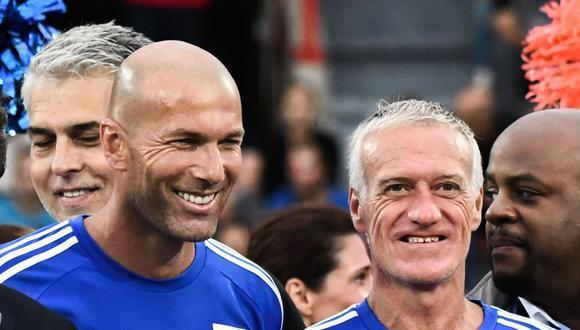 Deschamps habla sobre futuro de Zinedine Zidane  (Foto: @lequipe)