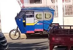 Detienen a mototaxista ebrio en Juliaca